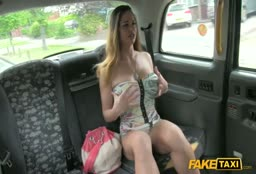 Hungarian Babe In The Fake Taxi